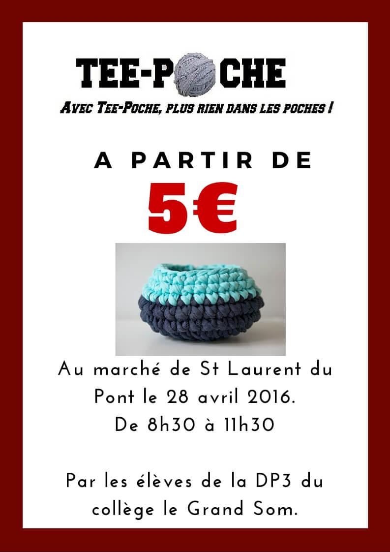 Affiche Tee-Poche Isère