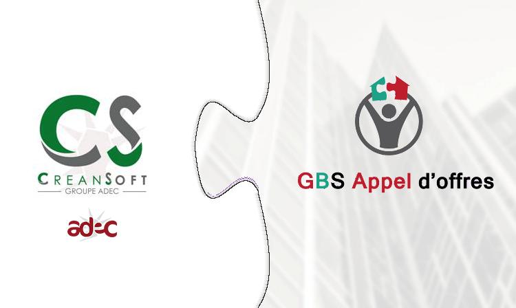 GBS Appel d'offres partenaire de CREANSOFT, au service des Huissiers de Justice